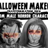 Halloween-Makeup-Transformation-Idea-from-Male-Horror-Character